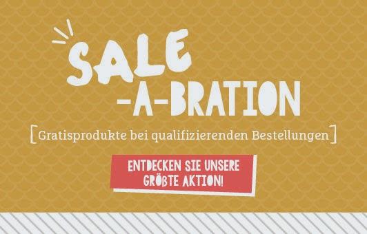 Sale-a-bration bis 31.3.15