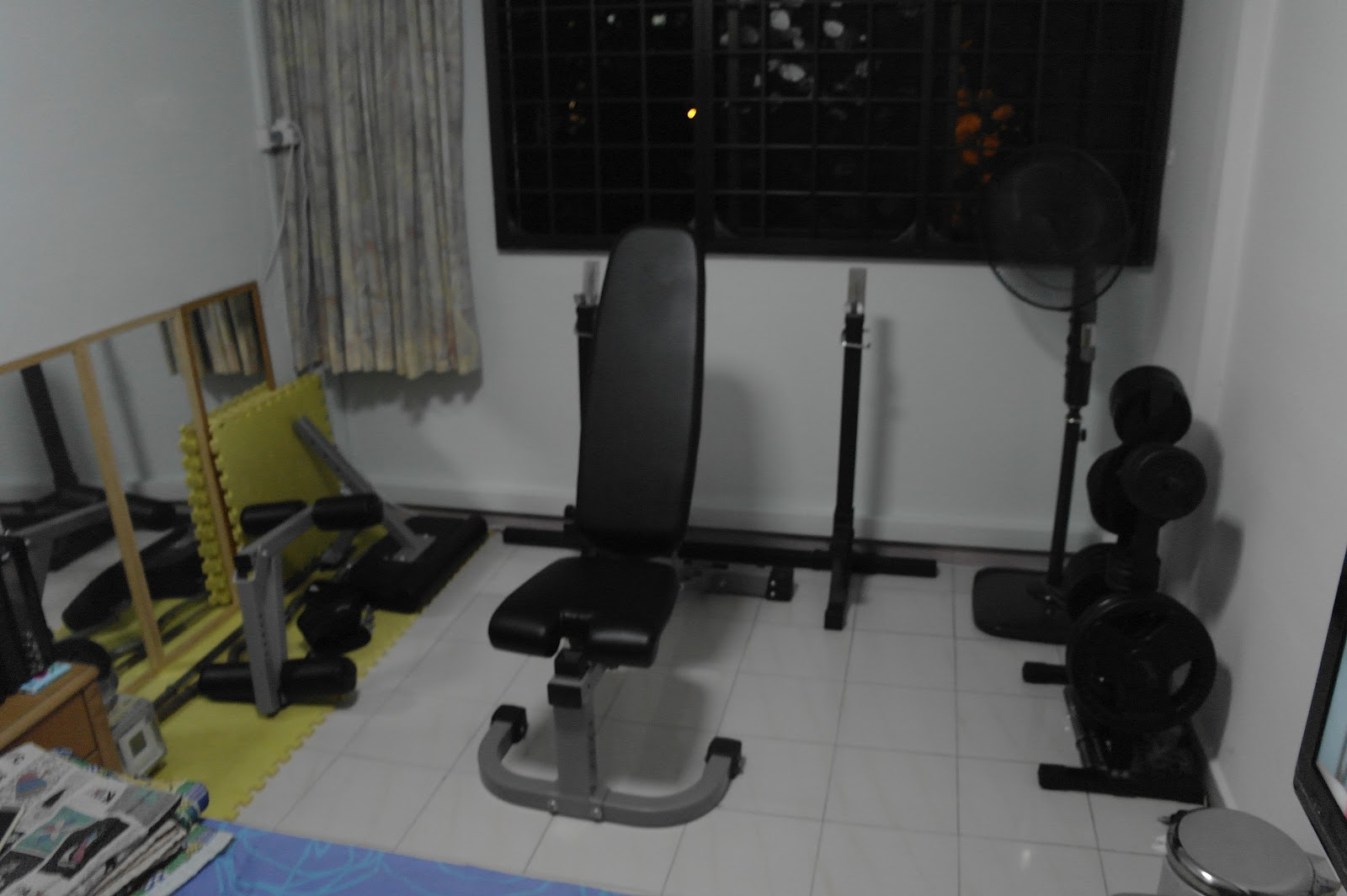 Singapore home gym undergoes