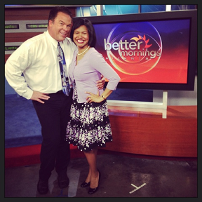 Live on Better Mornings for a Charity Fundraiser Event