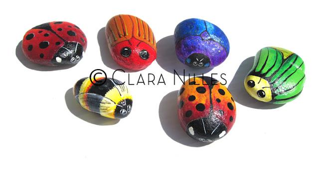 painted rocks, painted stones, art on rocks