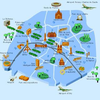Fresh Market Patong Phuket Holiday Tips - Paris things to do map