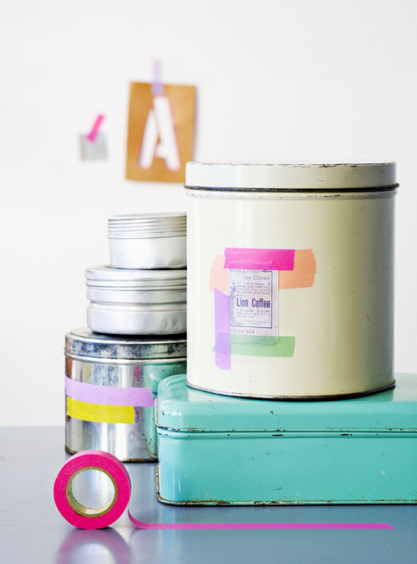 decoracion washi tape
