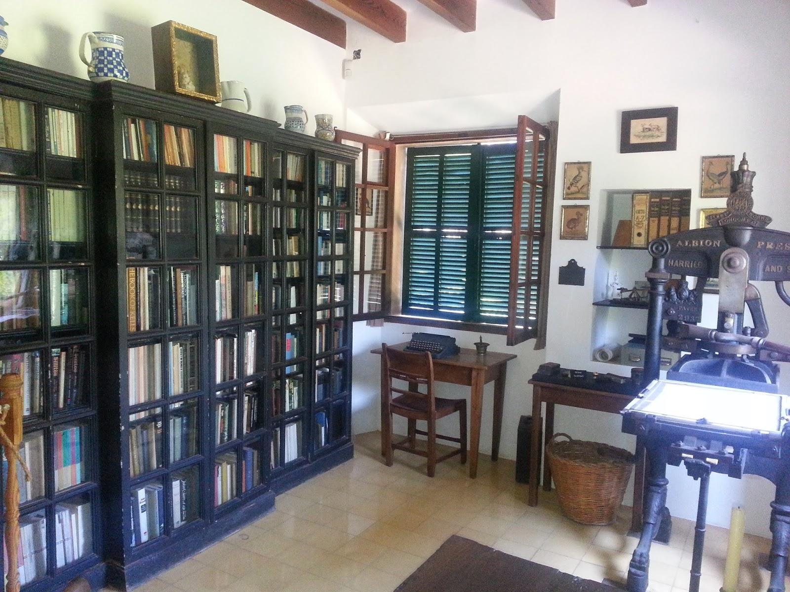 Entrelíneas: Visita a la casa de Robert Graves