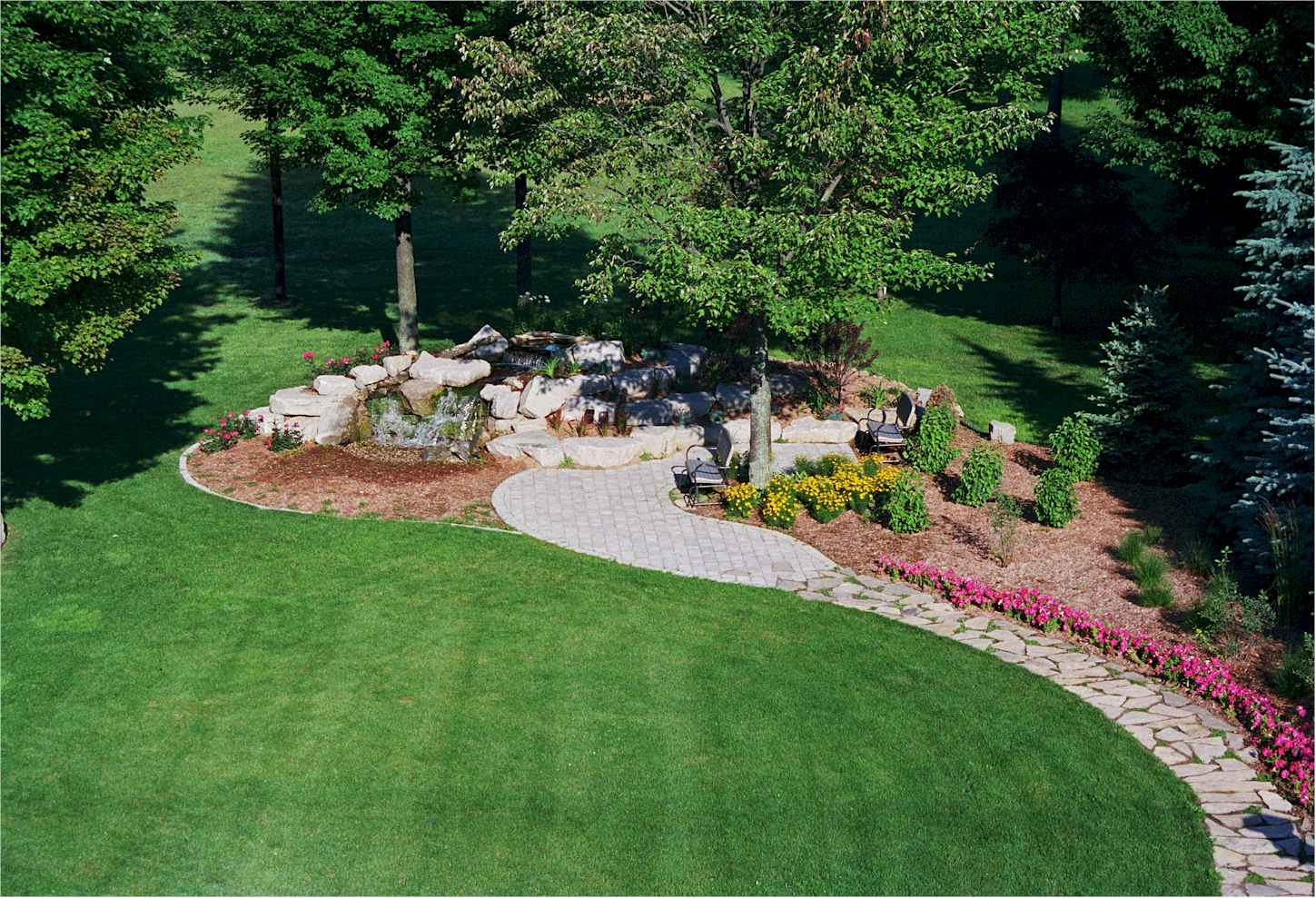 Wallpaper backgrounds landscaping for Landscape garden design ideas