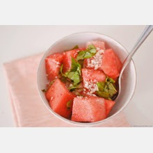 Savory watermelon salad?