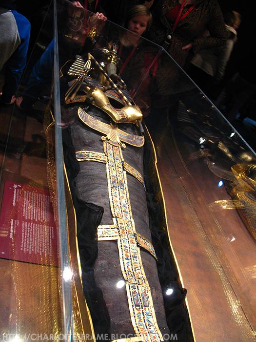 Toetanchamon, zijn graf & zijn schatten / Tutankhamun - his tomb and its treasures, sarcophagus of Tutankhamun, sarcofaag van Toetanchamon