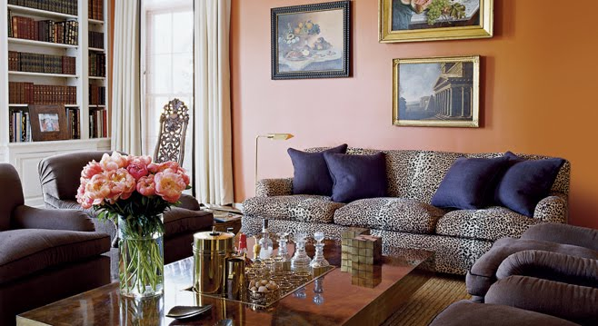 personality is preferred: animal print couch aerin lauder