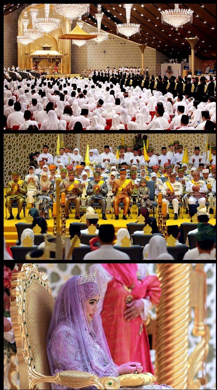 Gambar Sekitar Majlis Perkahwinan Diraja Anak Sultan Brunei