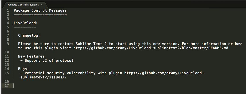 [開發筆記] 幫你的 Sublime Text 2安裝 LiveReload Plug-in - 尤金.札記
