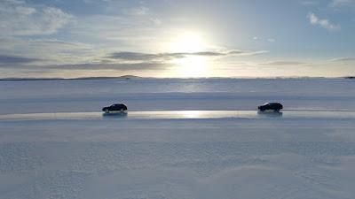 SUV Bentley Bentayga Testing In Winter
