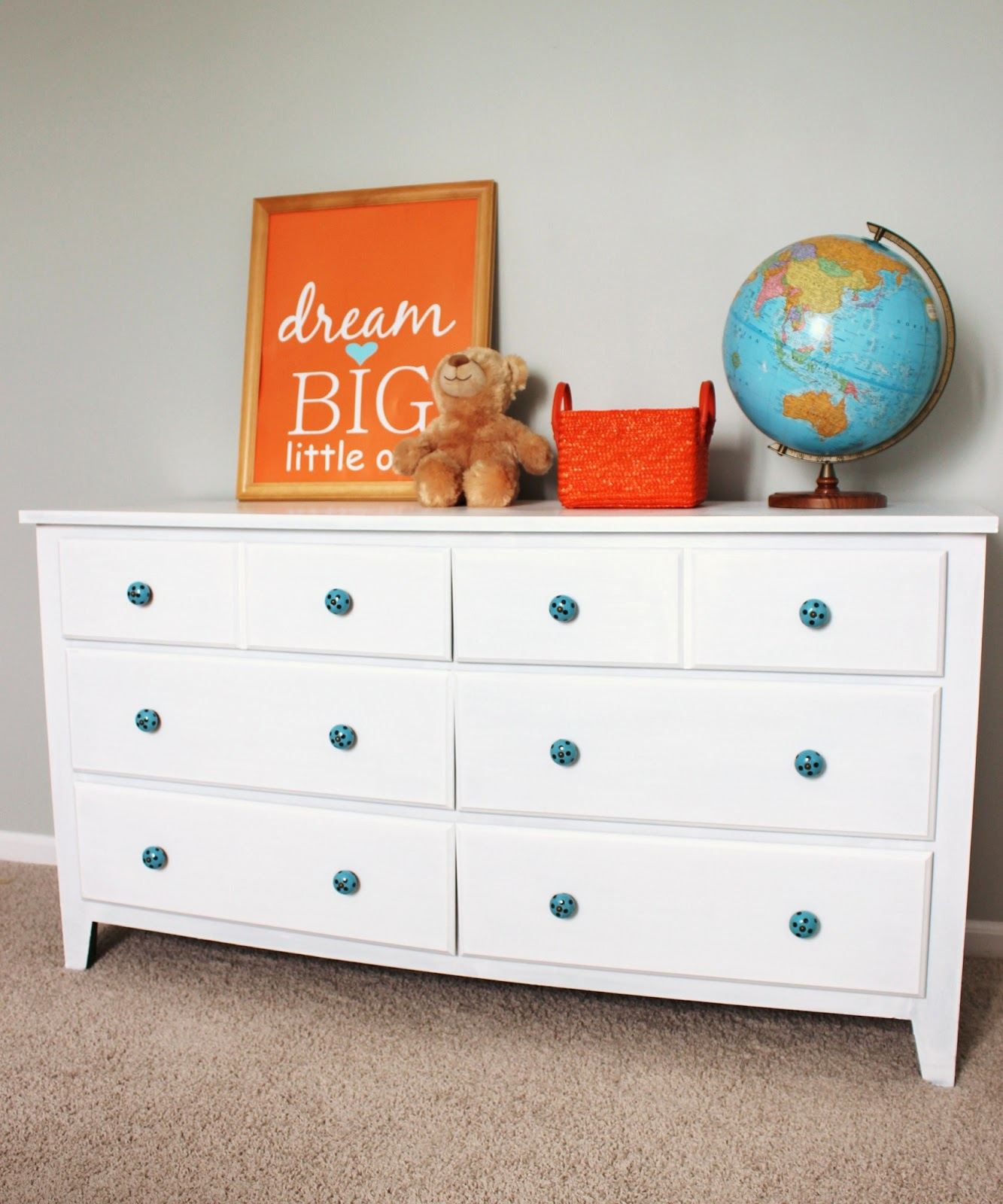 Can You Paint Laminate Furniture #30: Old Dresser Makeover: How To Paint Laminate Furniture