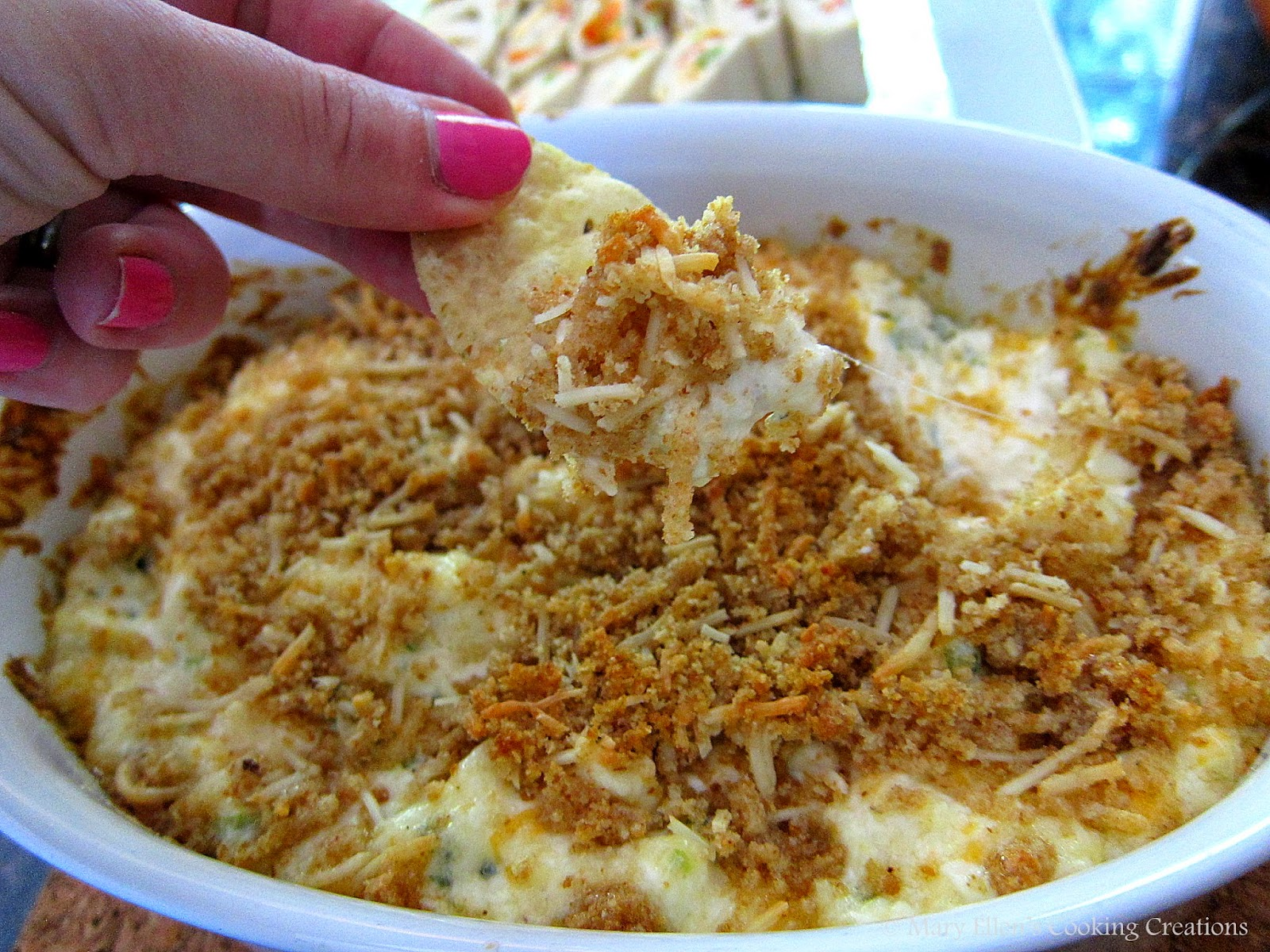 Mary Ellen's Cooking Creations: Jalapeno Popper Dip