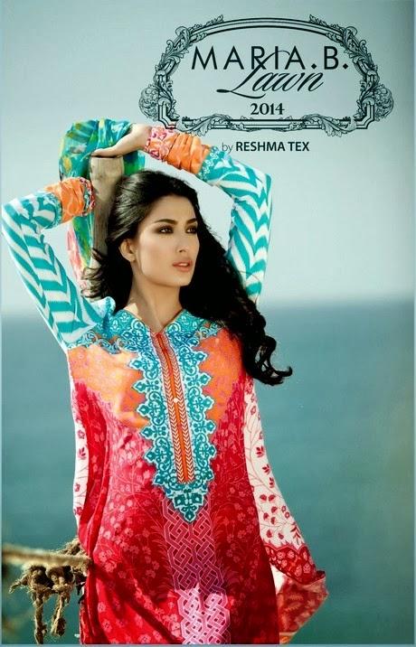 Reshma Tex Maria B Lawn 2014