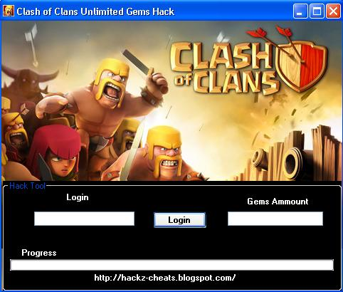 Clash of Clans Unlimited Gems, Coins & Elixir