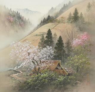 Lukisan Pemandangan Yang Indah Oleh Koukima Pelukis Japan