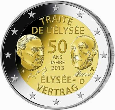 2 euro Germany 2013, Elysée Treaty