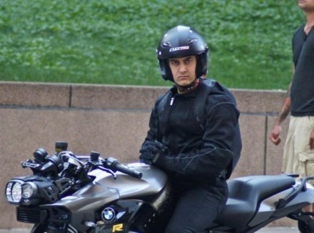 Aamir Khan First Look 'Dhoom 3'