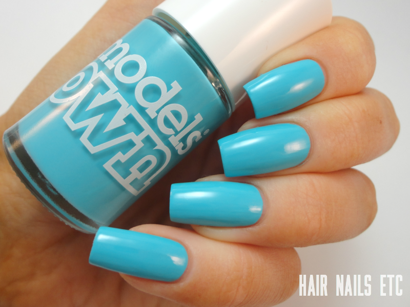 Turquoise Sea - Models Own - Polish for Tans 2 Collection Summer 2015 - Swatches and Review - www.hairnailsetc.com