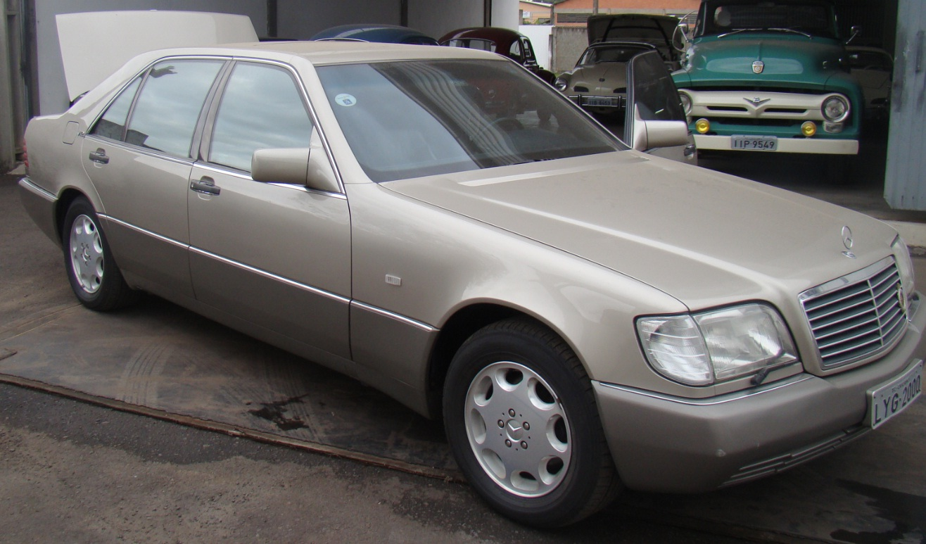 W140 SEL 600 V12 1992 - R$ 50.000,00 Lateral