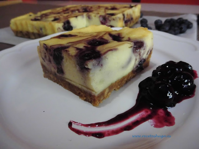 Blueberry chees...