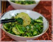 Sałatka z jarmużem i brokułami