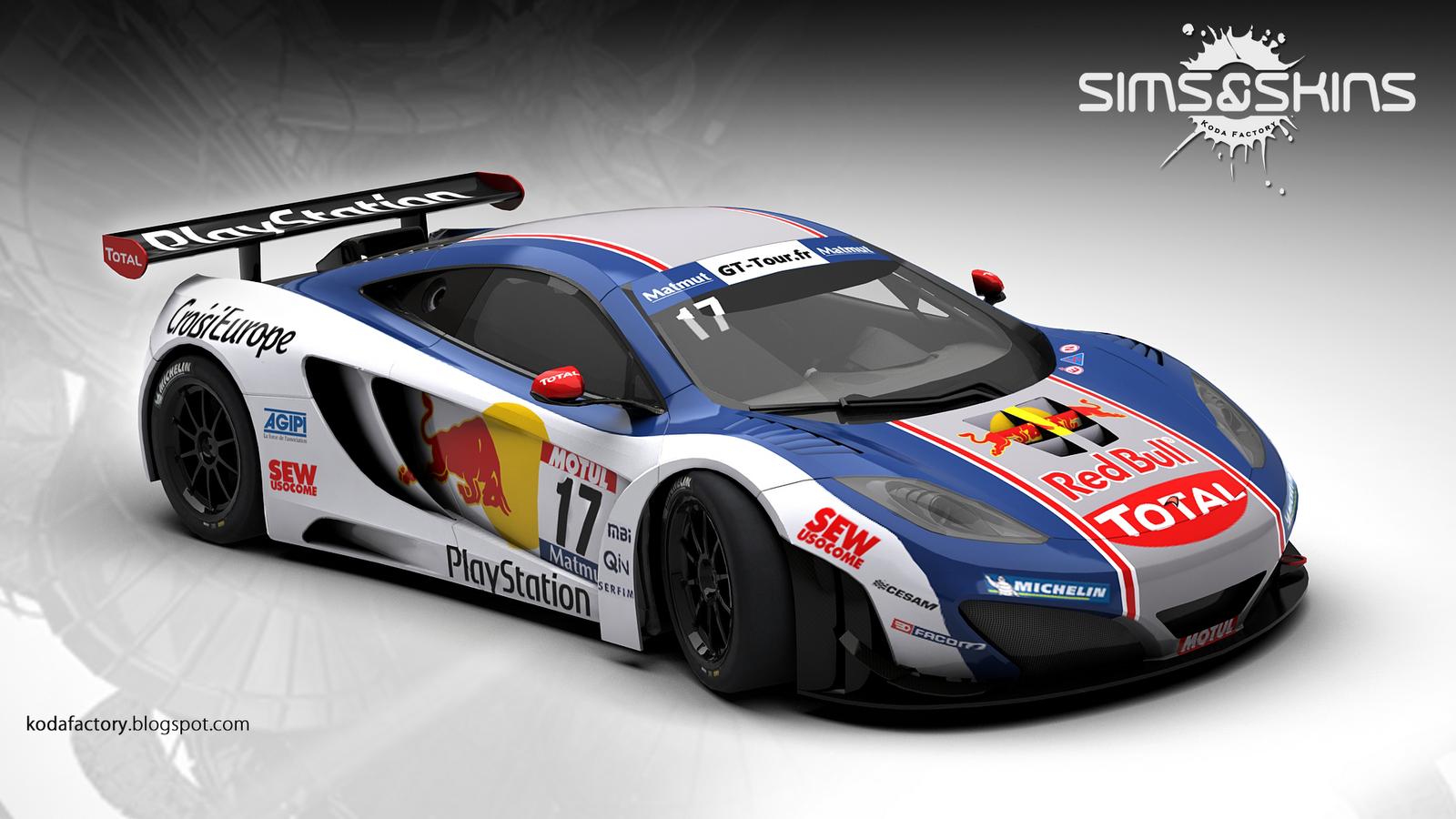 Koda Factory: Sébastien Loeb Racing : McLaren MP4-12C ...