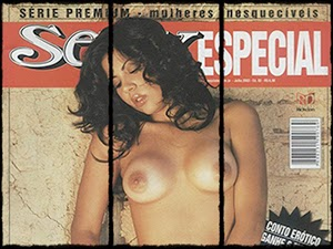Micheli Maia Nua Na Revista Sexy Especial