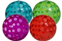 Exemplo de bola inflável