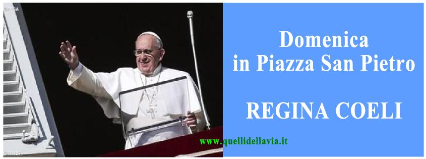 Pietre Vive Regina Coeli Del 3 Maggio 2015 Testo E Video