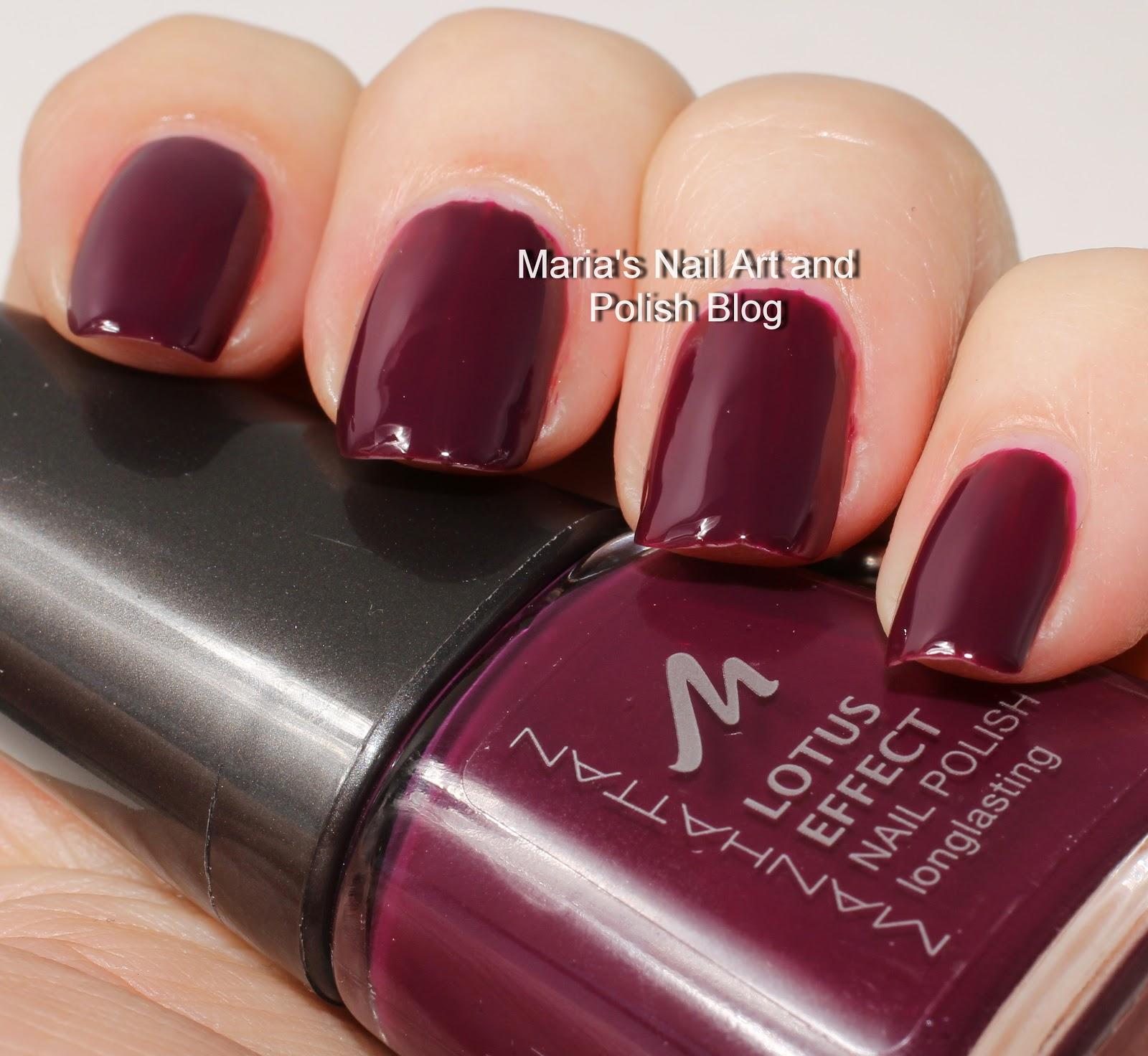 Marias Nail Art And Polish Blog Flushed With Stripes And: Marias Nail Art And Polish Blog