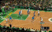 NBA 2K13 Boston Celtics Court Patch