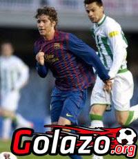 Barcelona contra Córdoba en vivo