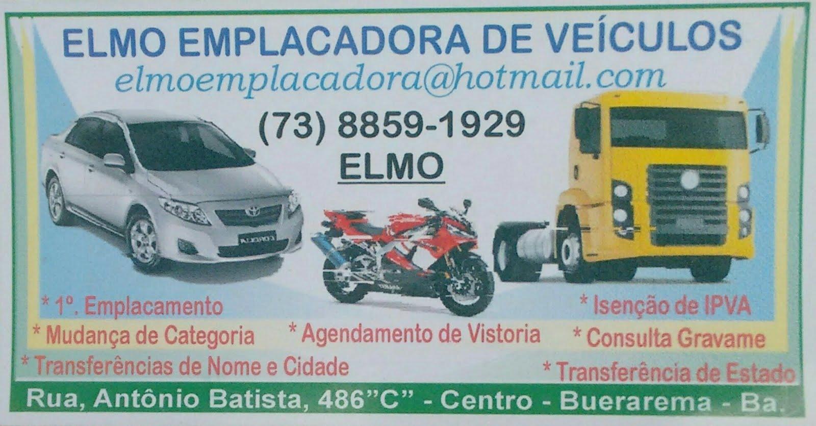 ELMO EMPLACADORA DE VEÍCULOS