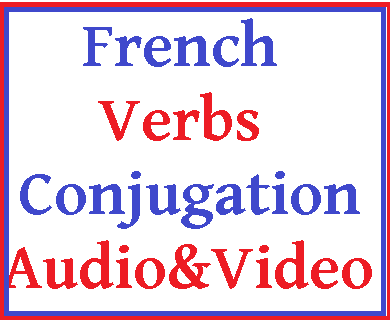 Ymabyts french language verbs conjugation audio video for Porte french conjugation