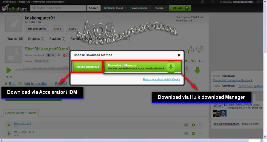 regular download tunggu sebentar sampai pop up download manager