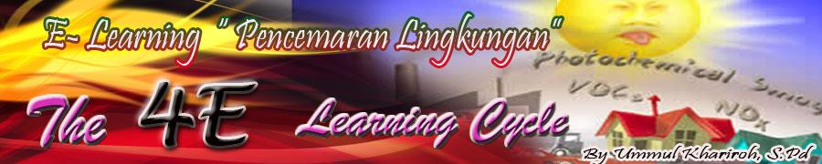 """E - Learning """" Pencemaran lingkungan"""""""