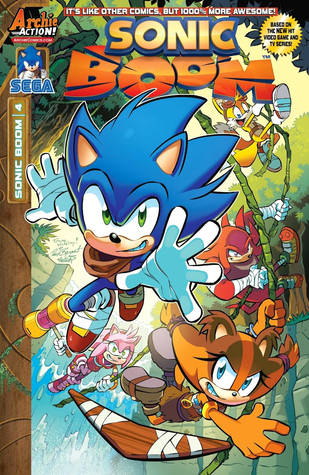 La casita de Amy Rose: CÓMIC: Sonic The Hedgehog #6 (Español)