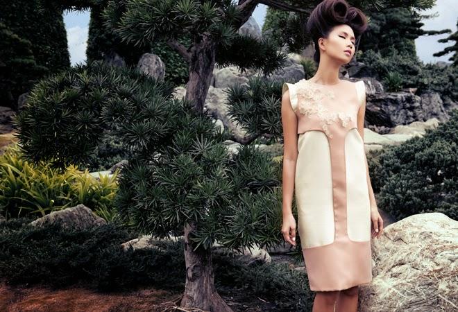 Trong bộ sưu tập của Phương My thời trang với vẻ dịu dàng pha lẫn cá tính