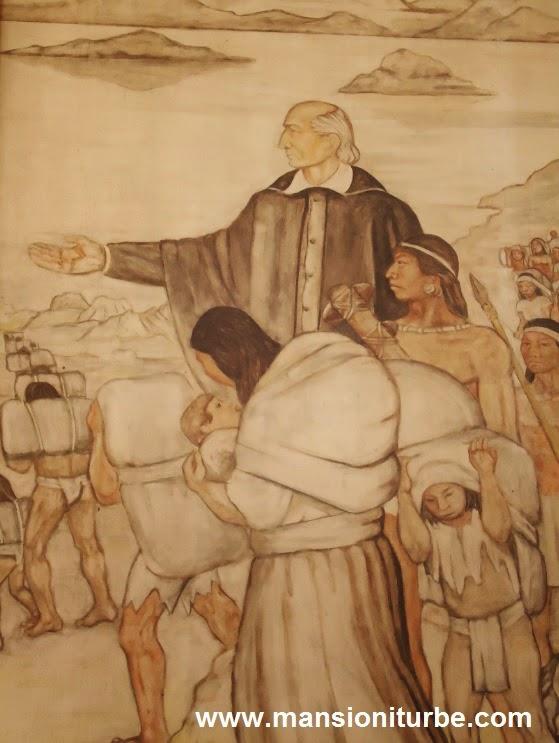 Mural de Don Vasco de Quiroga en Pátzcuaro