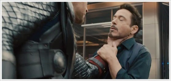 Thor and Tony Stark - Avengers : Age Of Ultron