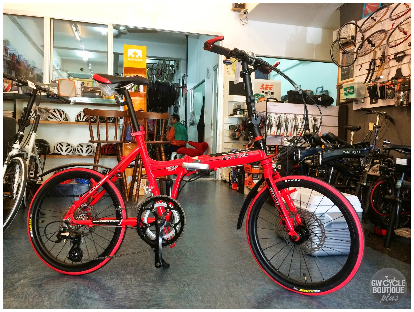 Gw Cycle Boutique 20 Imported New Alloy 16speed Folding Bike