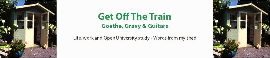 Get Off The Train - Goethe, Gravy & Guitars