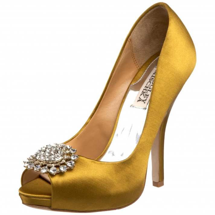 9fc66a6b37d4 Platforms—Brides tying the knot in 2012 are not afraid of sky high heels!  Platform wedding shoes are more popular than ever