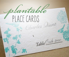 Plantable Place Cards