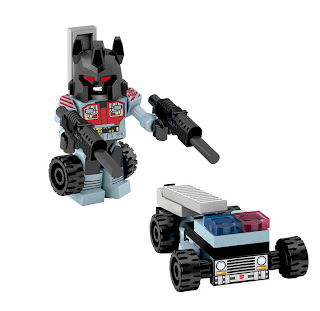 Hasbro Transformers Kre-O Micro Changers Combiners Series 2 - Hot Spot (Protectobots)