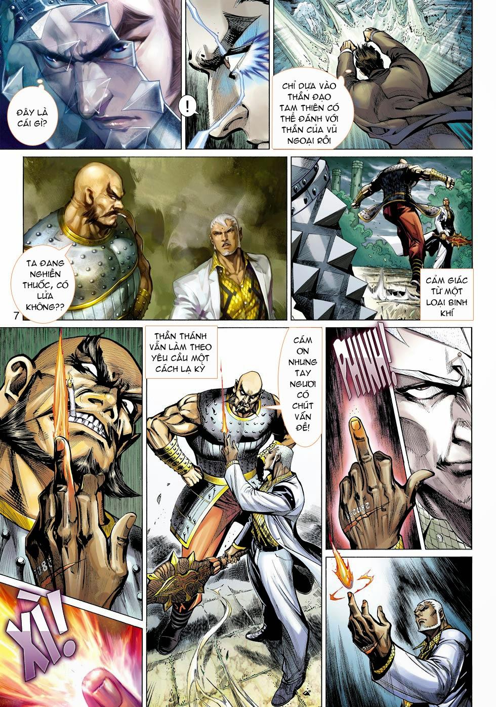 Thần Binh 4 chap 25 - Trang 9