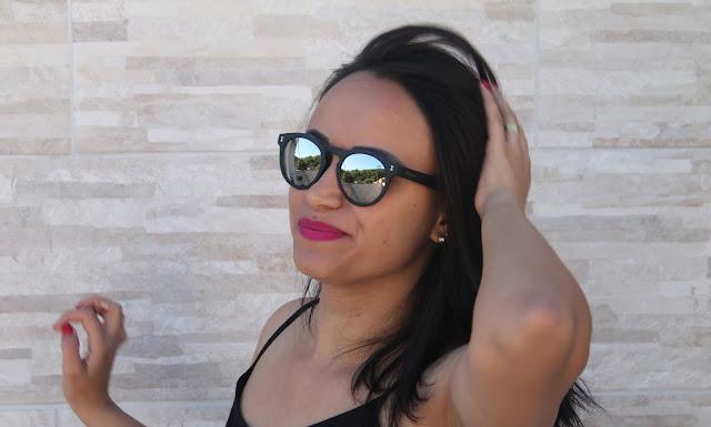 foto com oculos