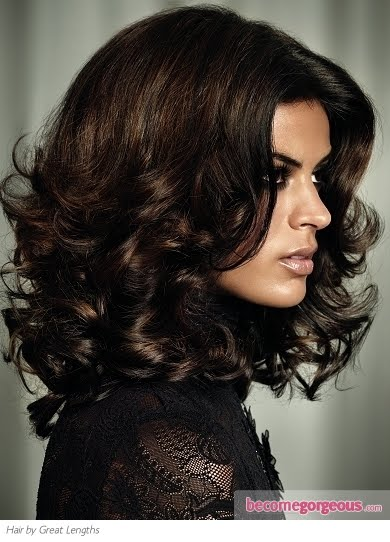 Dark Chocolate Brown Hair Color | World Fashion News