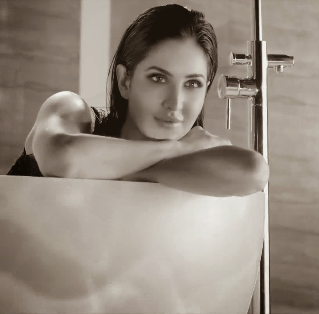 Katrina Kaif - Hot Wet Photos In Bath Tub