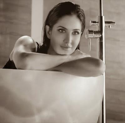 Katrina Kaif - Hot Wet Photos In Bath Tub